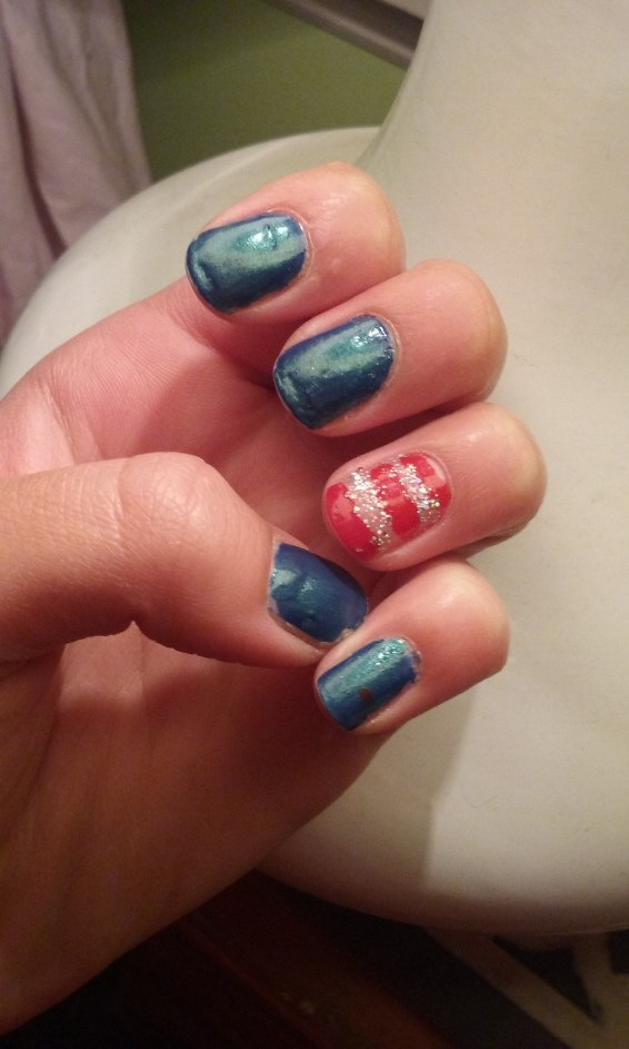 Nails for the 4th!